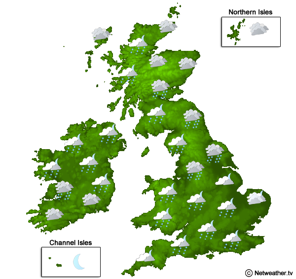 5 Day Weather Forecast UK