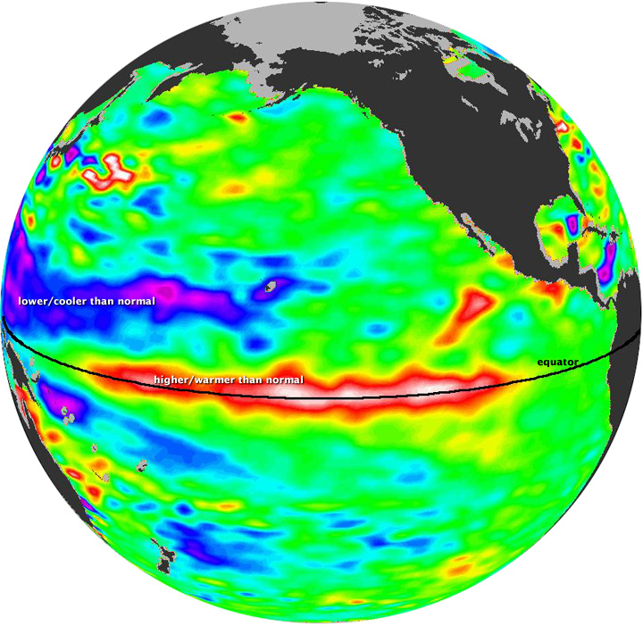 Strong El Nino Now Forecast - How Will It Impact The Weather?