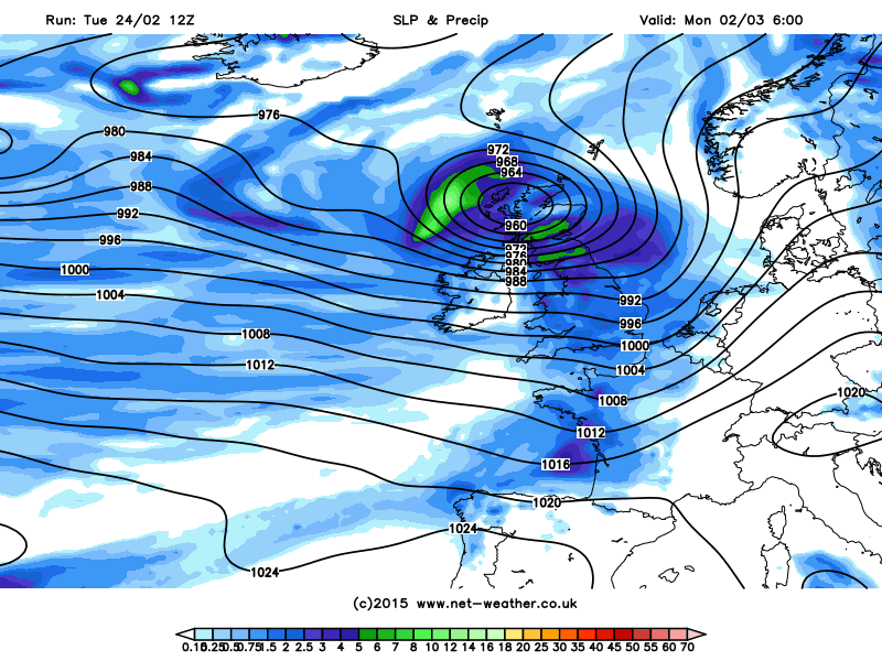 Synoptic Analysis - March to roar in like a lion?