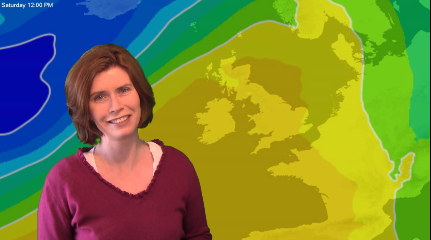 Spring Temperatures, Wet & Windy At Times For The North West