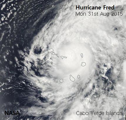 Unusual Hurricane Fred