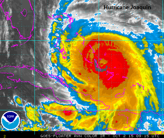 What's Hurricane Joaquin up to now?