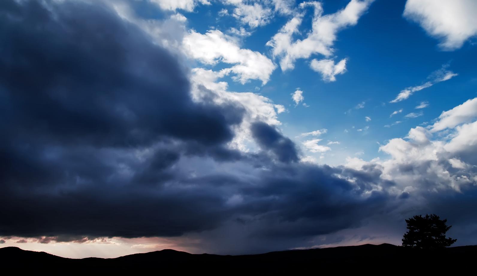 Tuesday Sunshine then Mid-week Wind and Rain