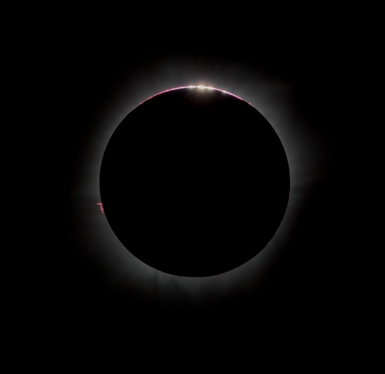 Total Eclipse state-side. UK getting Hot and Humid