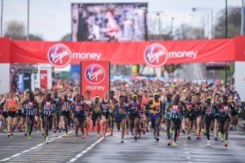 London Marathon- Bright with a cool start