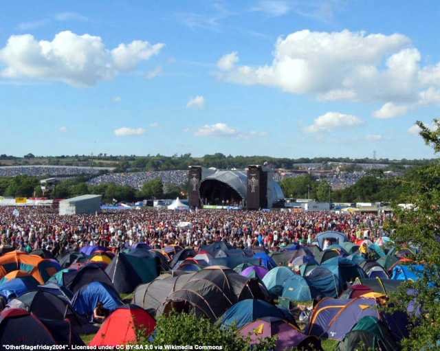 Glasto 2017 Forecast - Looking pretty decent this year