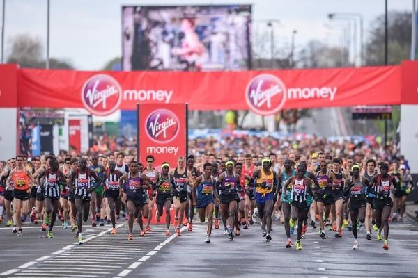 London Marathon- Bright with a cool start
