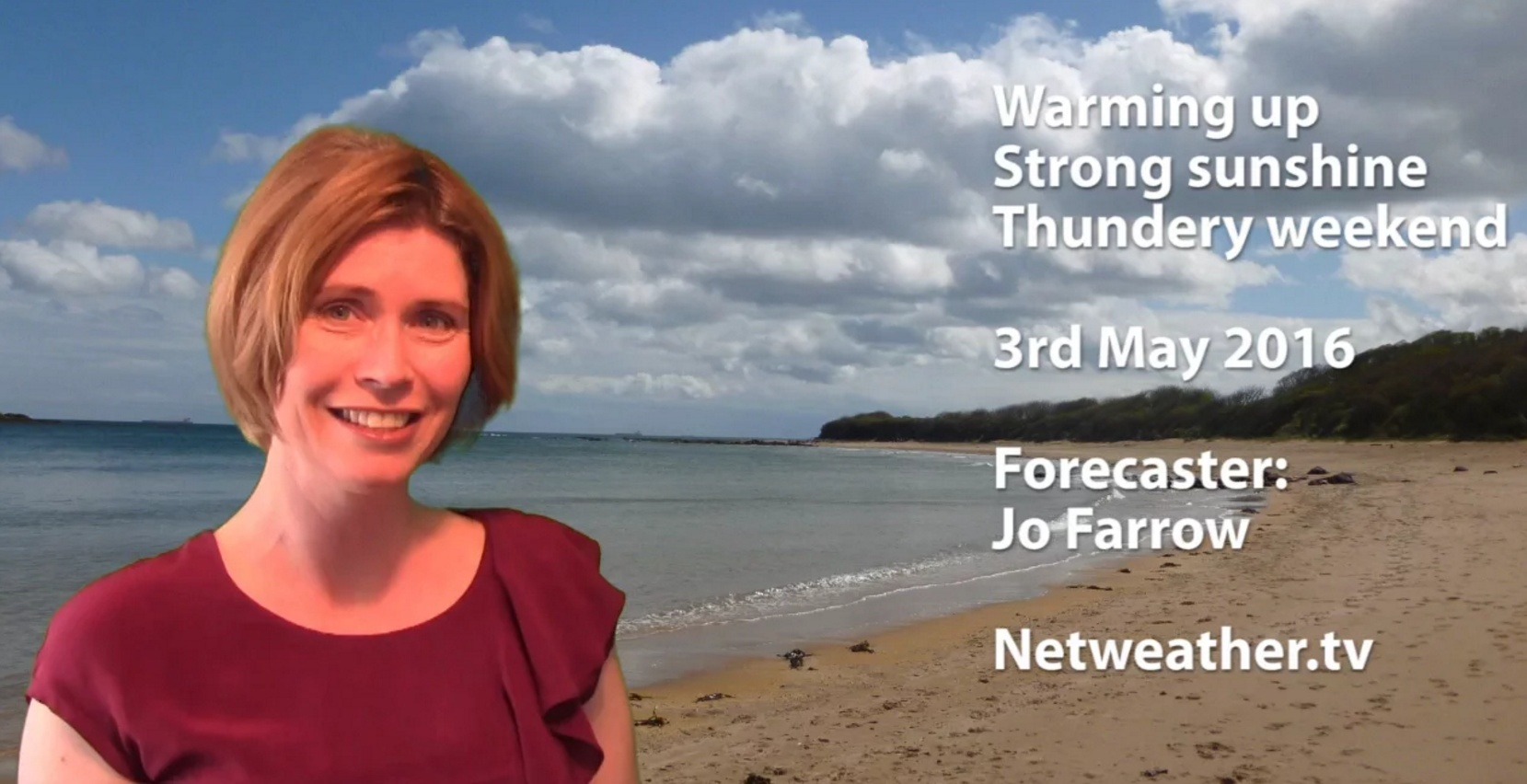 Video: Warming up - thundery weekend?