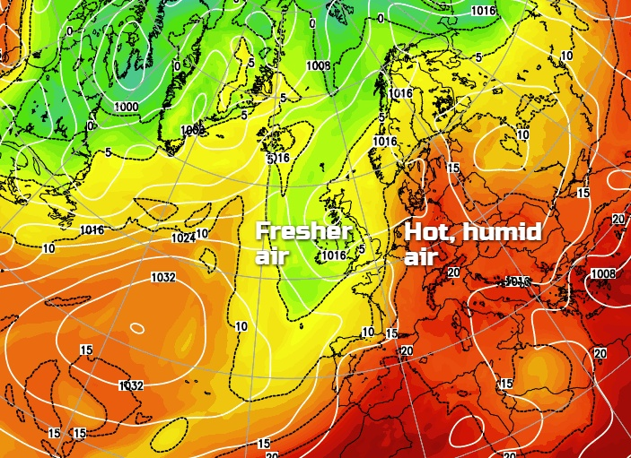 Fresher But Changeable For All This Weekend