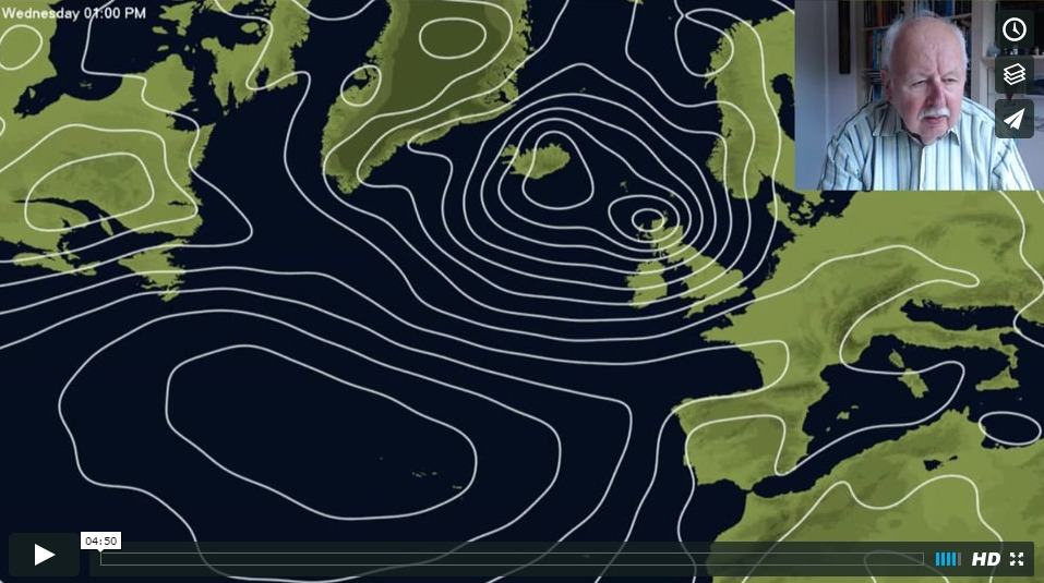 Michael Fish: An Autumnal End To June?