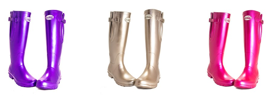 Win a pair of Rockfish Wellies - perfect for muddy festivals!
