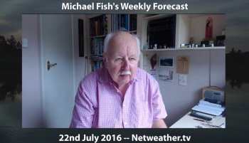 Miserable Michael Fish means more heat in the south