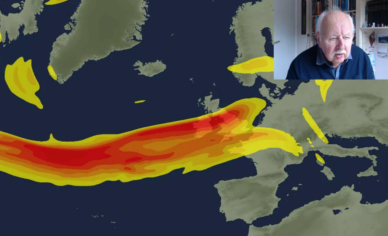 Michael Fish: Jet Stream staying with us into next week