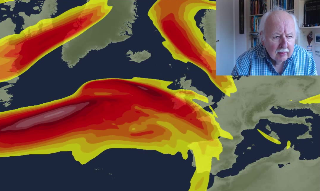 Michael Fish: Jet Stream powering up - an unsettled week ahead
