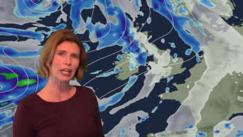 Video: Warm in the sunshine, cool nights, blustery weekend