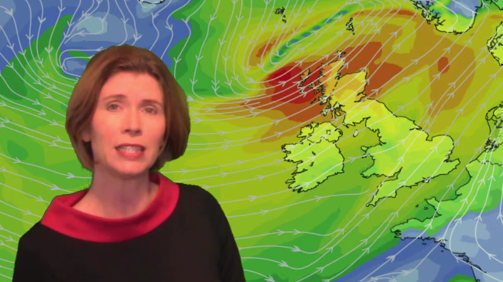 Video: Gales in the north, warmth fading further south