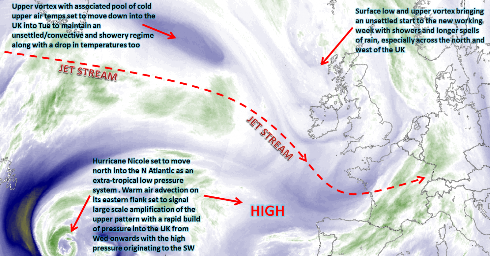 Synoptic guidance - week ahead - 17th October