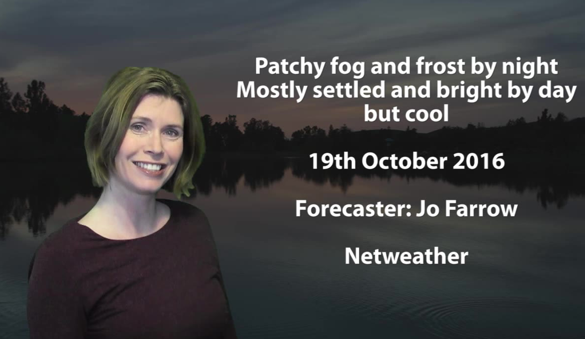 Video: Mainly Dry But Cool With Chilly Nights