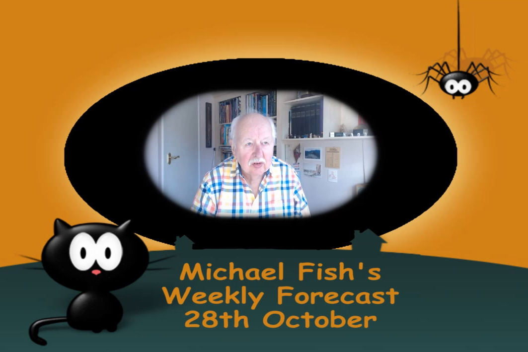 Michael Fish: Halloween chill spreading south