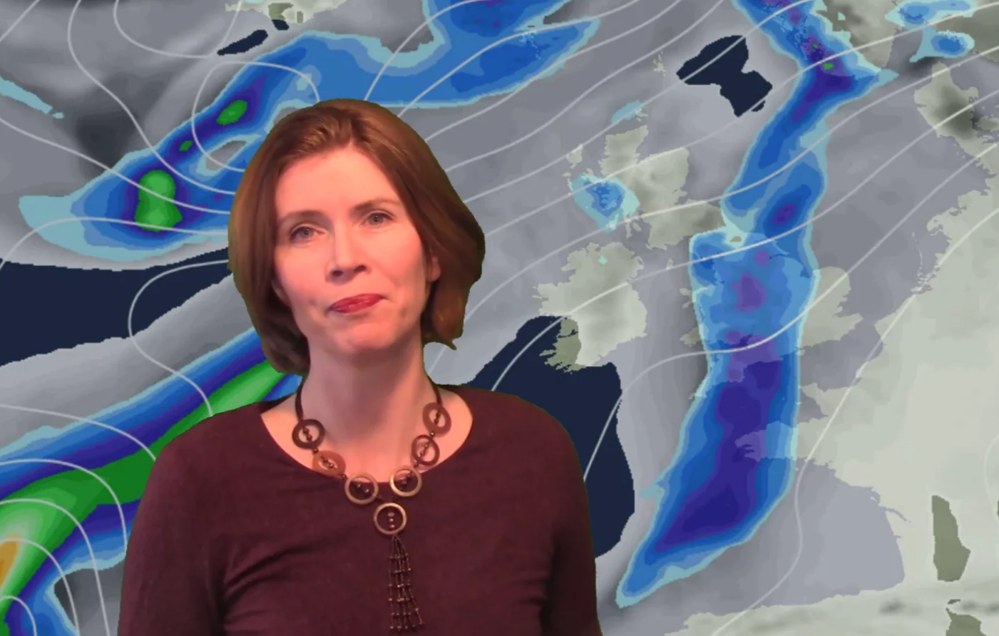 Video: Much milder, some rain too