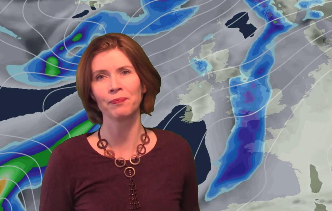 Video: Much milder, some rain too