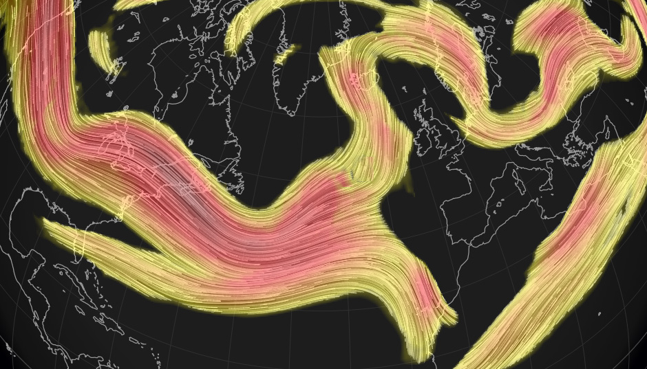 Meandering Polar Vortex & A Swinging Jet Stream