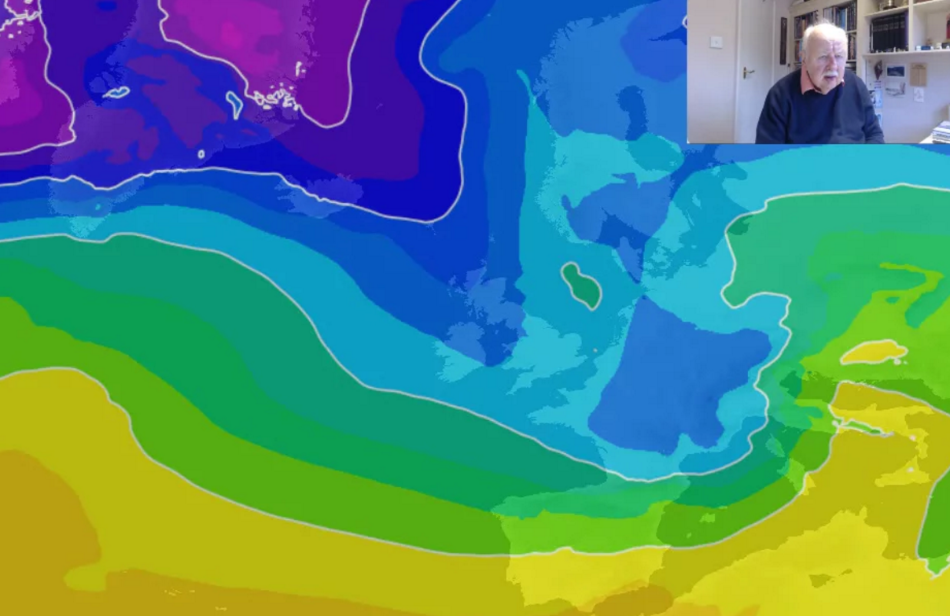Michael Fish: Cold Spell Continuing - Snow, Ice and Gales