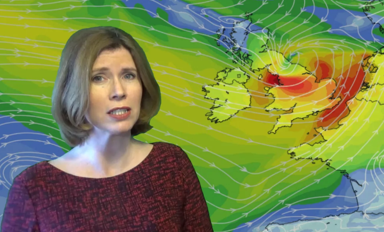 Video: Storm Doris to bring disruption - wind, rain and snow