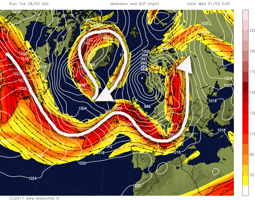 Synoptic Guidance: Cyclonic For Now, Blocked Later?