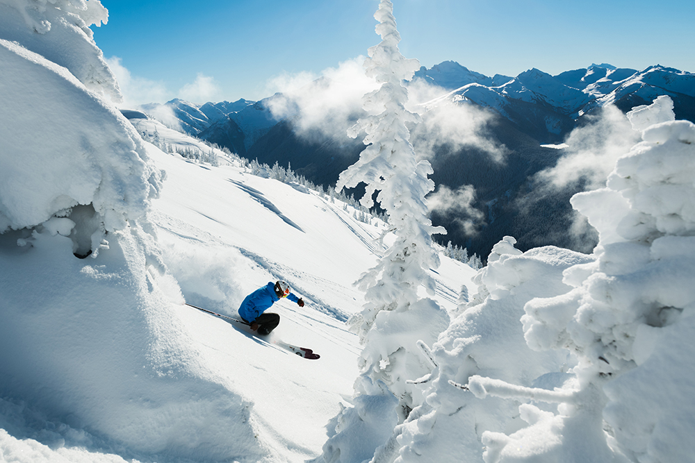 A powder day at Whistler