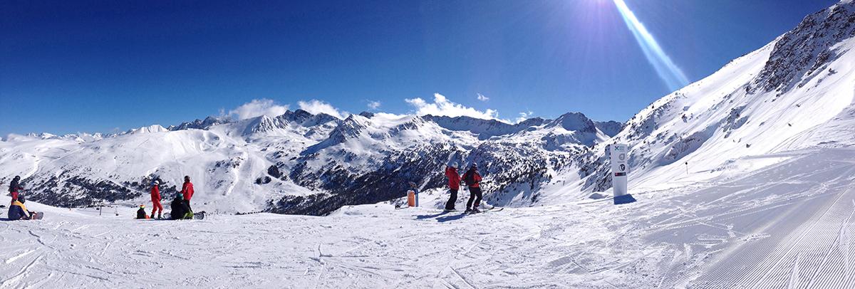 Grandvalira mountains