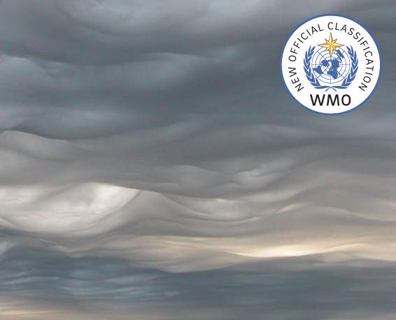 New cloud names - WMO Cloud Atlas
