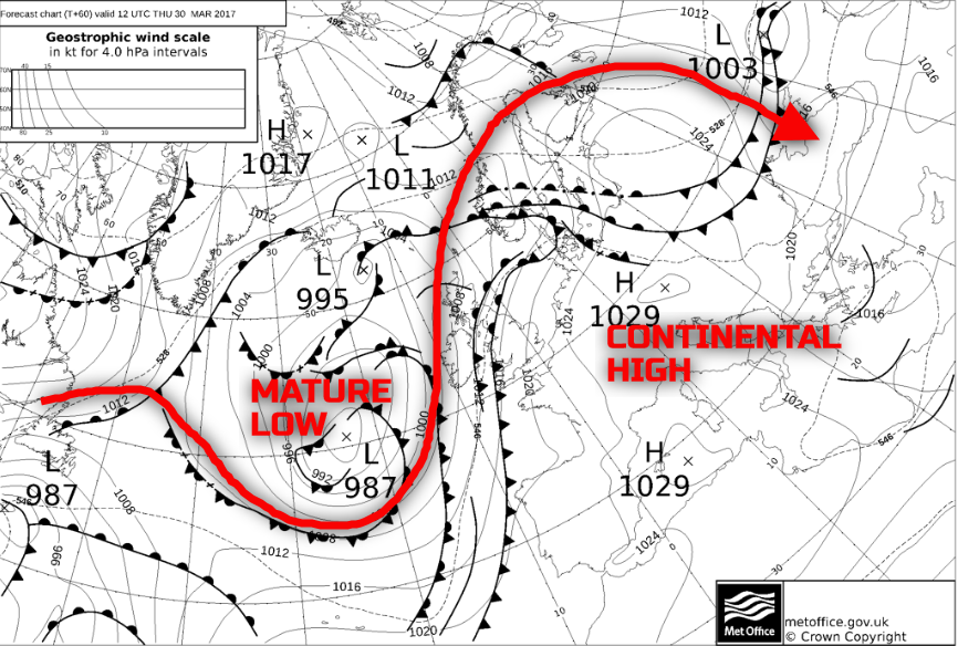 Synoptic guidance - 28th March