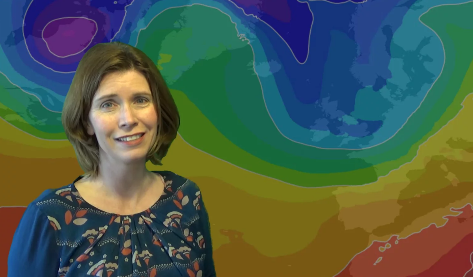 Jo Farrow: Staying quiet for now, colder weather next week