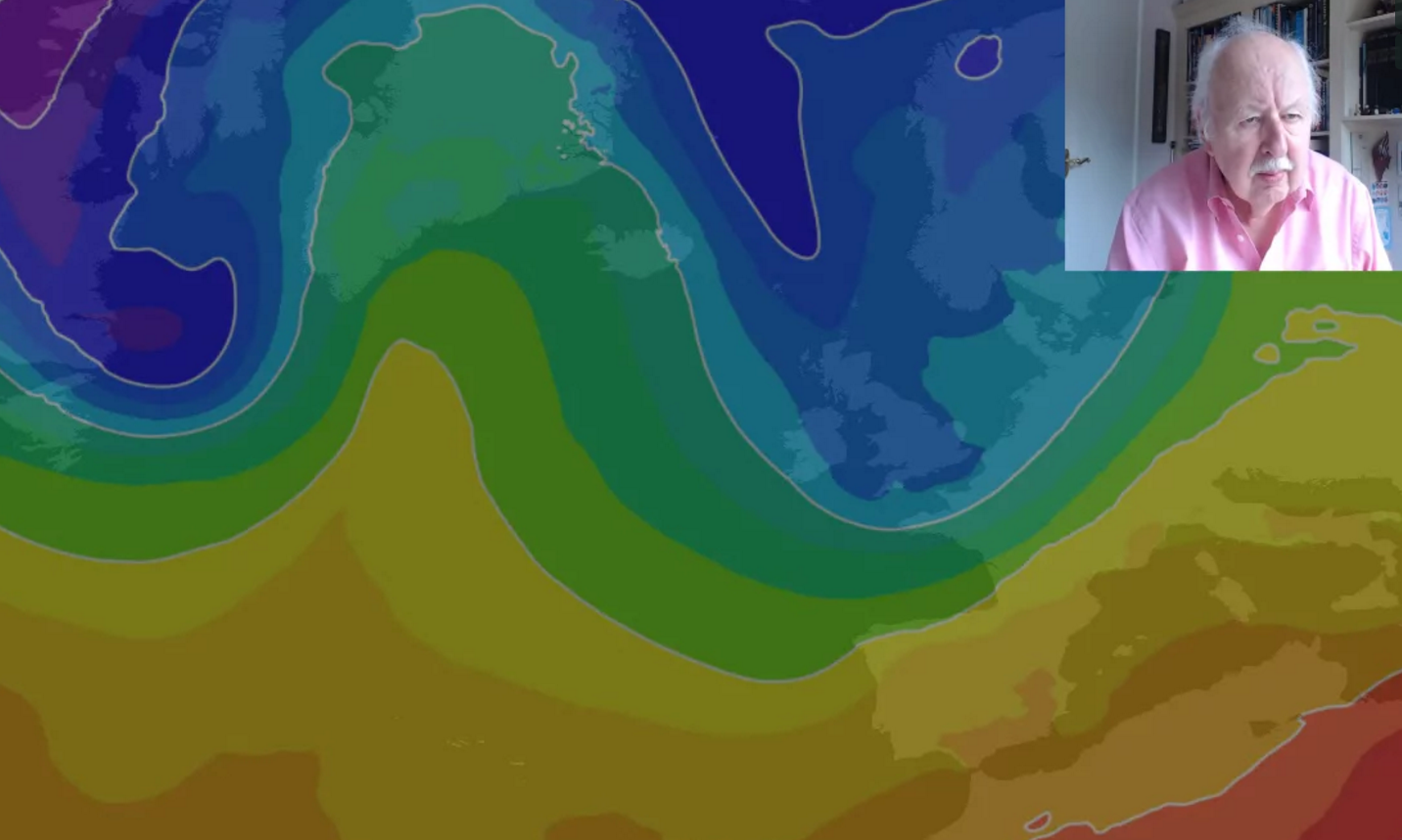 Michael Fish: A taste of Winter on the way