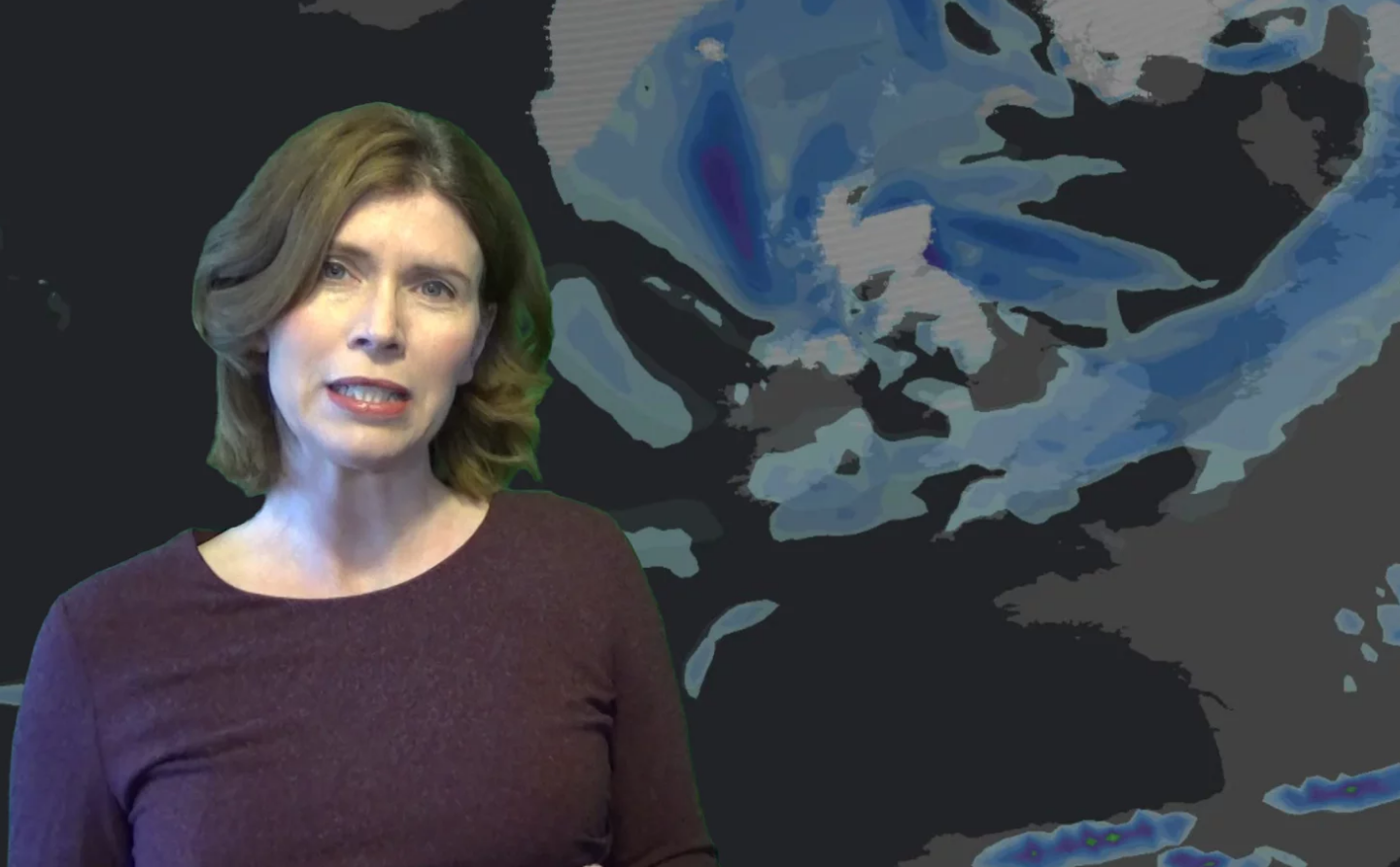 Jo Farrow:  Arctic chill  arrives