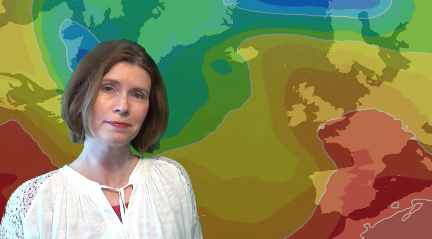 Jo Farrow: Hot & Humid, Thundery Later