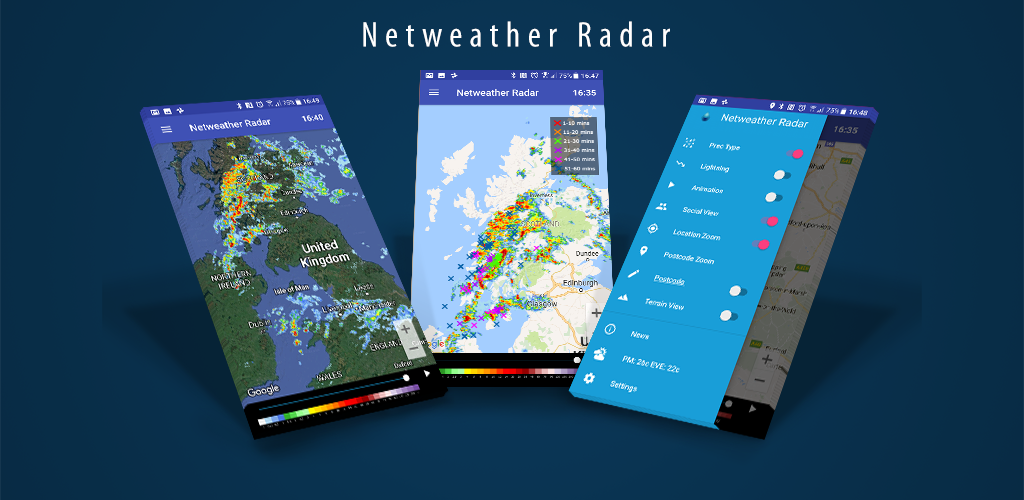 New Netweather Radar Apps