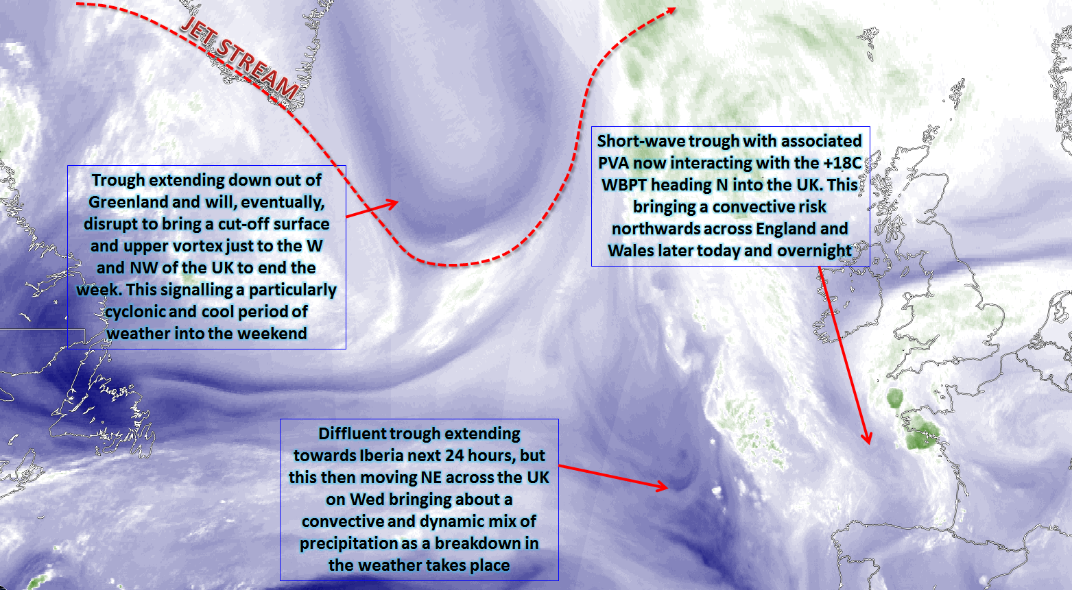 Synoptic Guidance - Convective Breakdown then Cyclonic Dominance