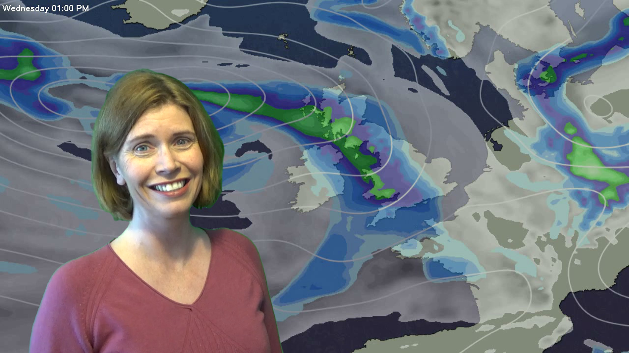 Jo Farrow: More Sunshine Tuesday, Turning Wet Wednesday