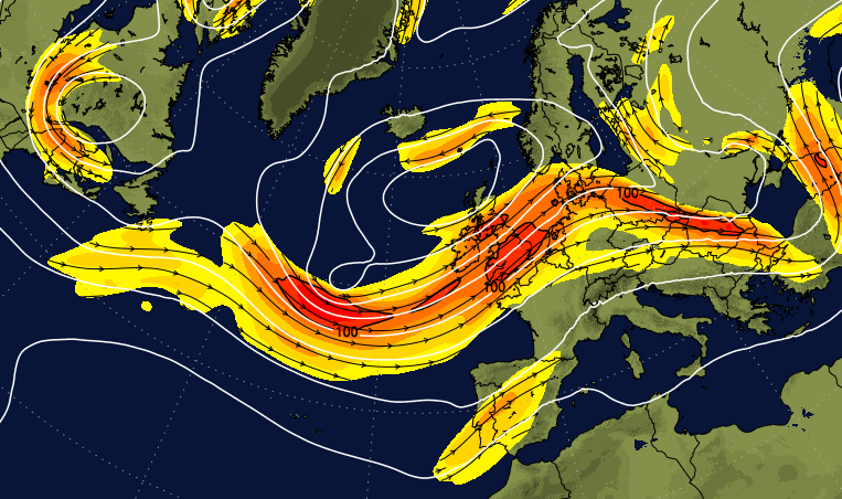 The Jet Stream Is Sticking Around - Bad News If You Want Summery Weather