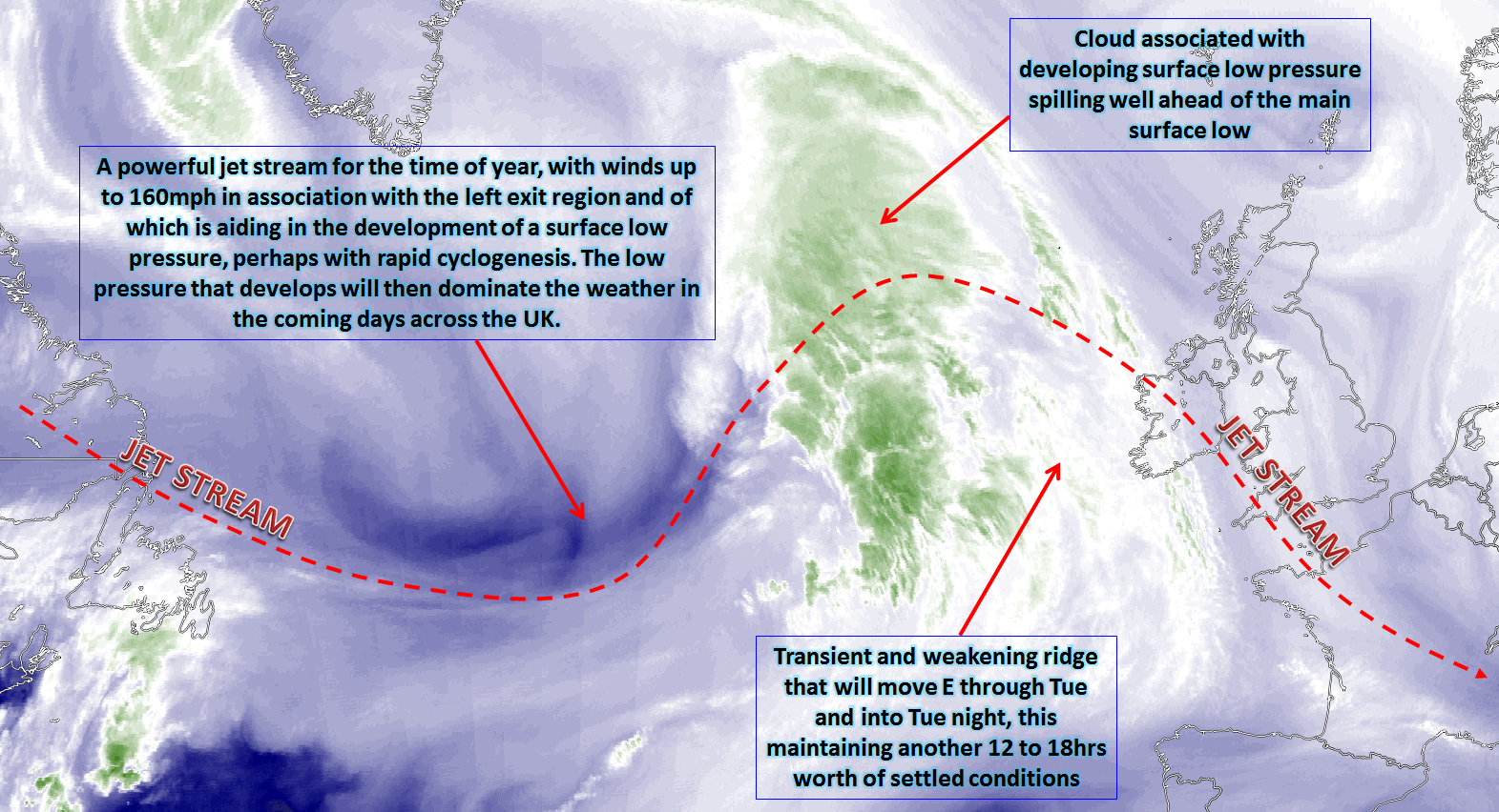 Synoptic Guidance - Cyclonic Weather Set To Dominate