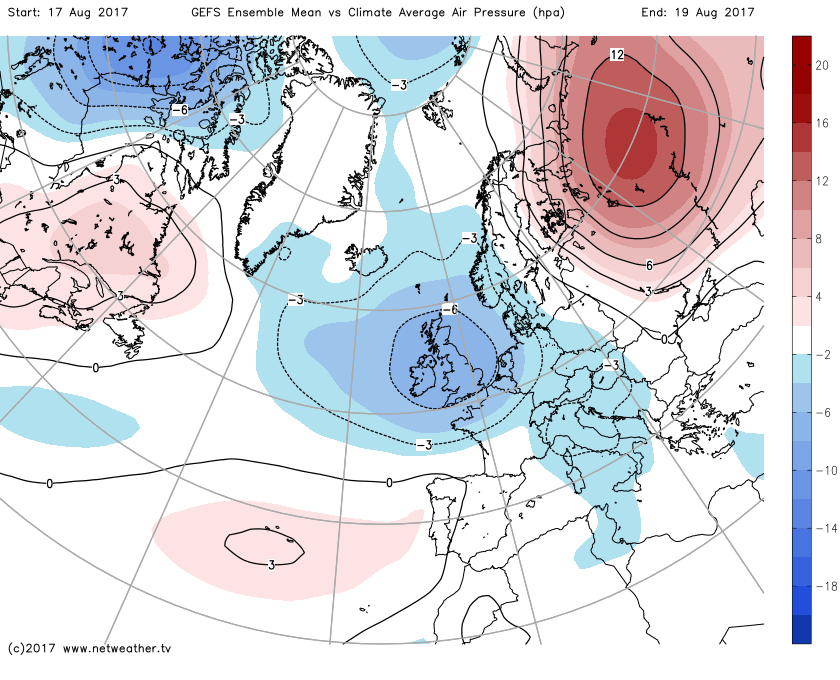Synoptic Guidance - An Unsettled Extended Outlook