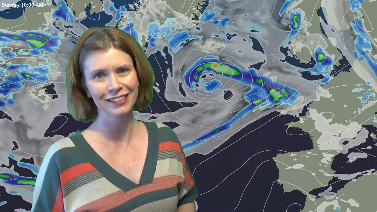 A blustery few days & watching Gert this weekend