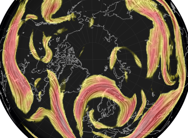 Live Global Weather Map.Global Jet Stream Map Netweather