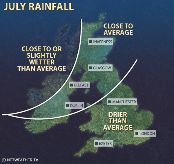 July Rainfall