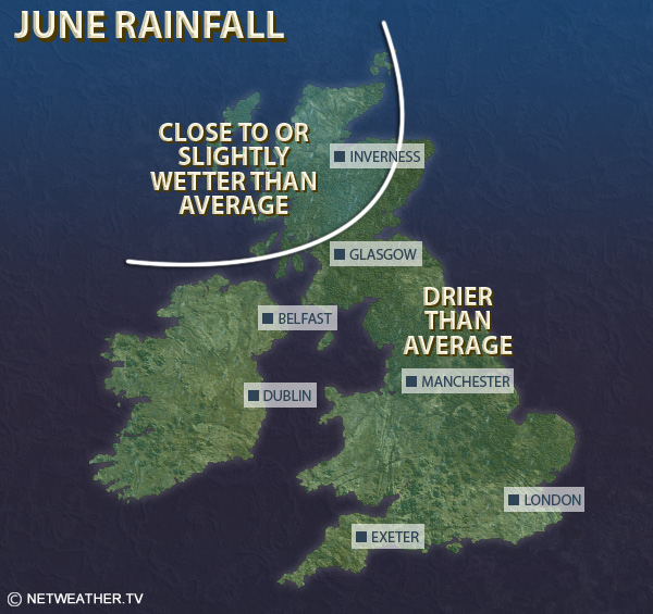 June Rainfall