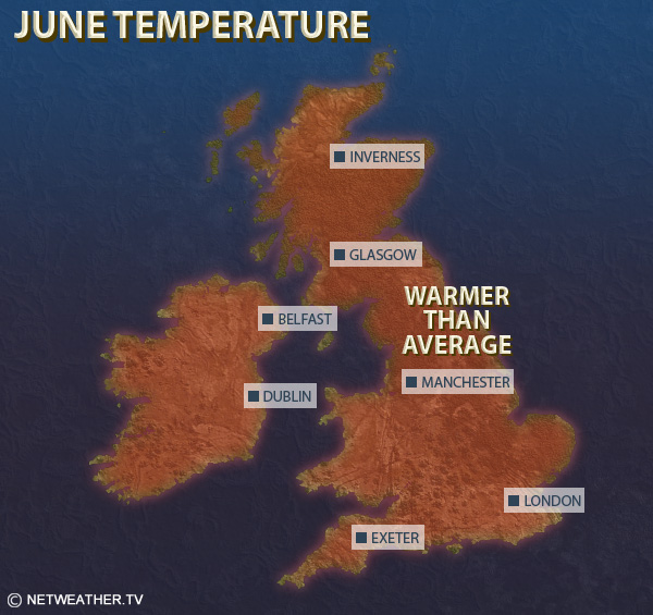 June Temperature