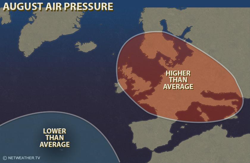 June Air Pressure