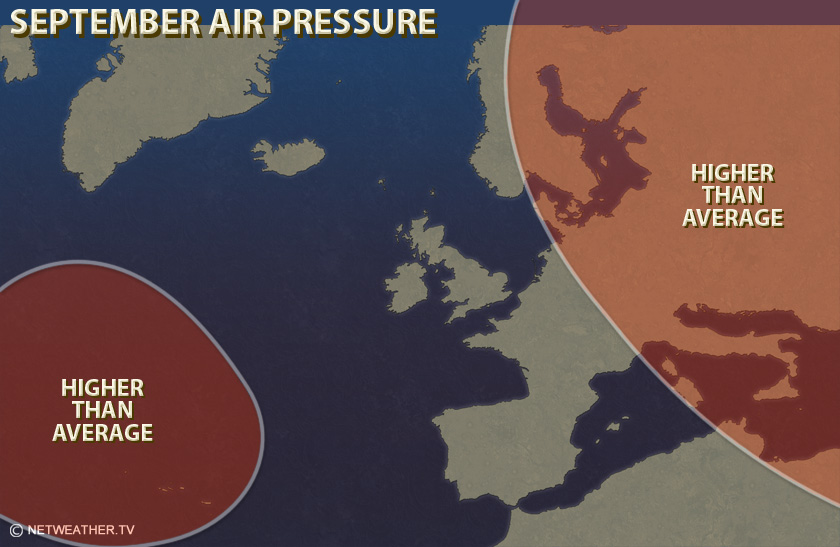 September Air Pressure